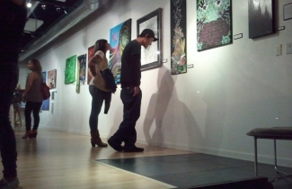 Underground Art Gallery Show